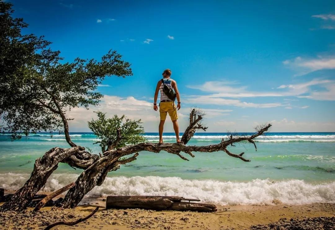提前收拾好行李,早上9点从酒店出发,登船开始今天的行程,吉利群岛上极佳的潜水胜地。吉利岛的海水有着明显的的颜色分层,沙滩边的海水,是浅蓝,清得见底;大海中间的蓝,是深蓝,深邃且一望无际,海底的神秘雕塑增添了几分神秘。为了保护这份原始环境,岛上甚至只有马车和自行车。所以时间在这里,走的很慢很慢。随便下海,就能找到多个完美的浮潜点。而且因为游客稀少,你会感觉这就是你的私家海滩,只要租上救生圈和蛙镜,你想玩多久都可以。首先我们前往吉利A岛,在鱼公园点浮潜,然后前往M岛附近海龟点浮潜,浮潜结束后返回T岛午餐,下午